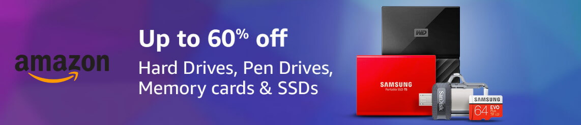 amazon pen drive hard drive offers