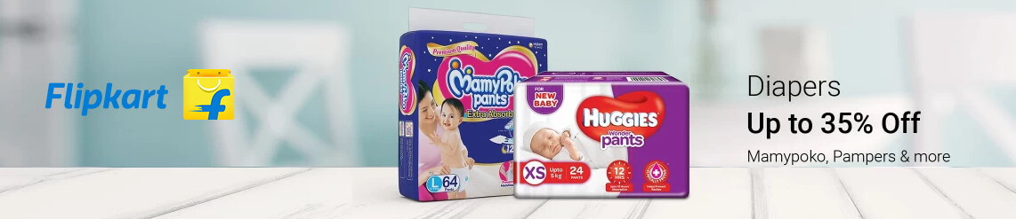 flipkart diaper offers